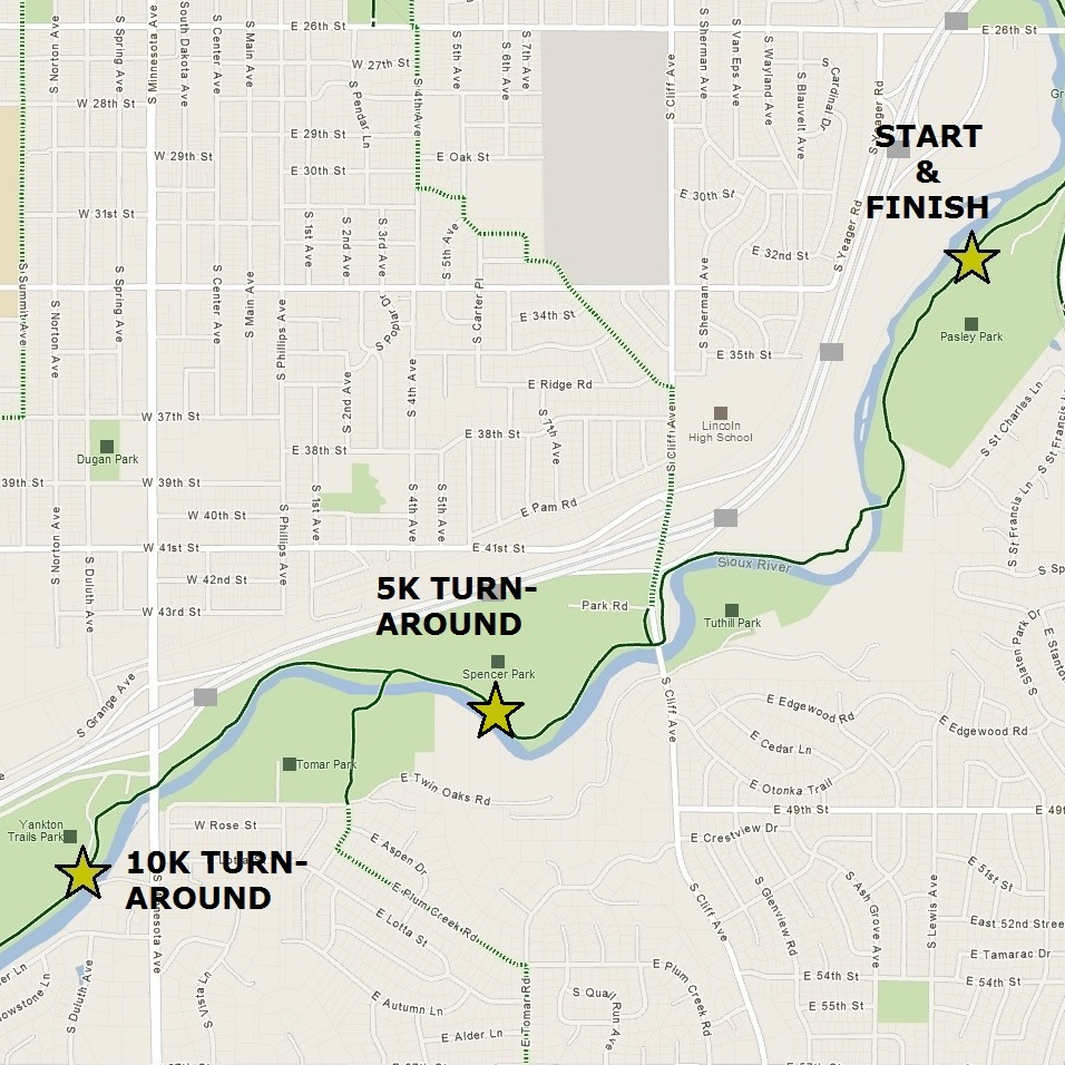 Trail Route Map