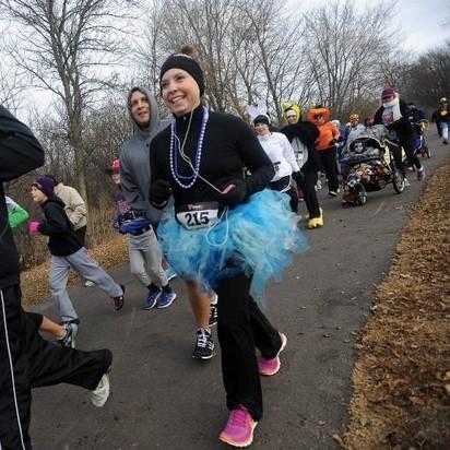 5th Annual 5K/10K Trick~or~Treat Trail Run (1/6)